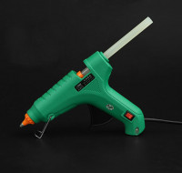 Пистолет для термоклея зеленый 80W  47-В