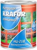 Лак НЦ-218,  0,7 кг,  KRAFOR