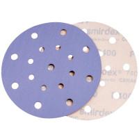 Абразивный круг SMIRDEX Ceramic, D=150мм Р 080 15 отверстий