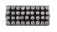 Набор клейм буквенных кириллица 7 мм