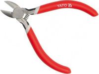Бокорезы YATO 125мм (сталь CrV HRC 56-62) обливные обрезиненные рукоятки