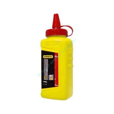 Меловой порошок Stanley красный (универсальный) 115гр. (1-47-404)