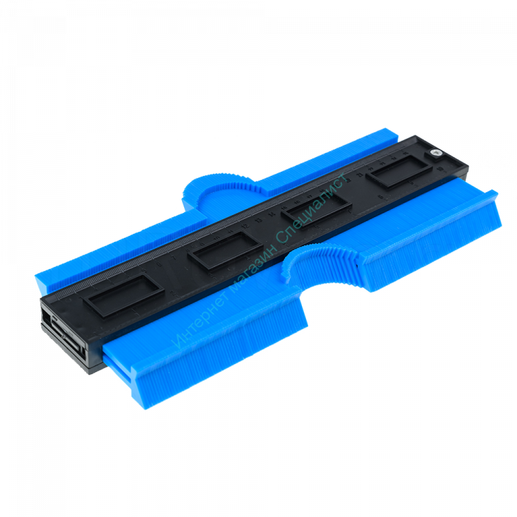 Шаблон контурный 10*синий  СЕБ (Т88376)