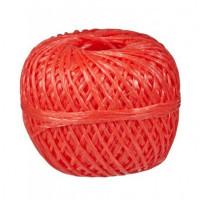 Шпагат полипропиленовый, клубок, 1,6*50м красный 1000 текс Komfi