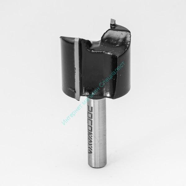 СТФ-1007 Фреза пазовая прямая с торцевым ножом удлиненная 8*16*30*100 мм