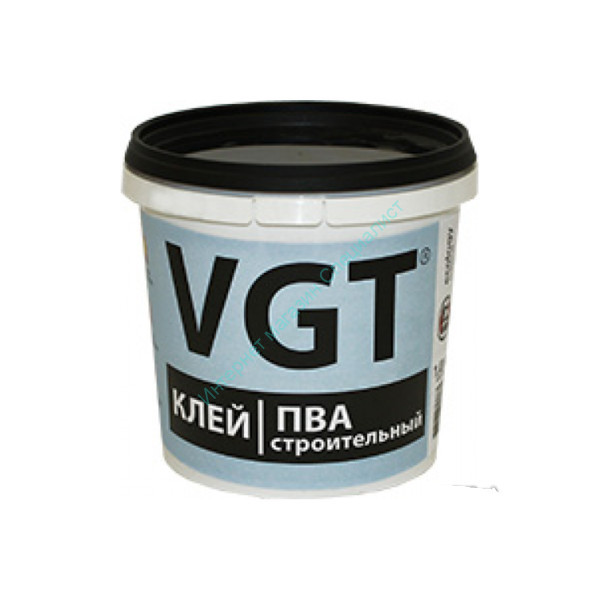Клей ПВА строительный 1,0 кг. VGT