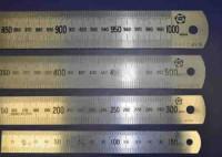 Линейка измерительная металлическая 300мм ТМ