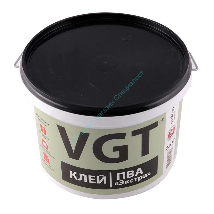 """Клей ПВА """"Экстра"""" (для столярных работ) 1,0 кг. VGT"""
