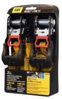 Ремни стяжные с храповым механизмом (3,04м*2,54см) 1362кг 2шт (980090I)