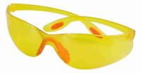 Очки рабочие пластиковые LIT желтые