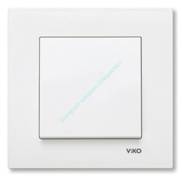 90960001 KARRE Выкл. 1-кл. (белый)