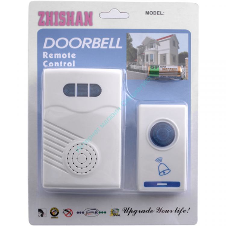 Звонок Zhishan (дист. управление) на батарейках
