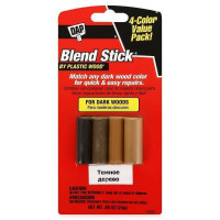 Карандаш для дерева 24 г. темное дерево (уп.по 4 цв.) Blend Stick, DAP