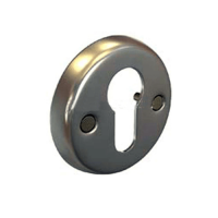 """Накладка под ключ ФНК-01 (хром) 55мм """"Нора-М"""""""