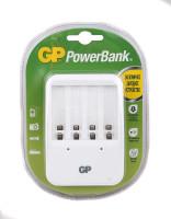 """Зарядное устройство """"GP PowerBank"""" GP PB420GS-CR1 (4XR6, R03) (Белая)"""